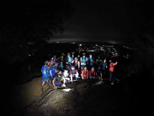 【開催中止】☆初めてナイト・トレイルラン☆多峯主山ぐるぐるトレイルラン